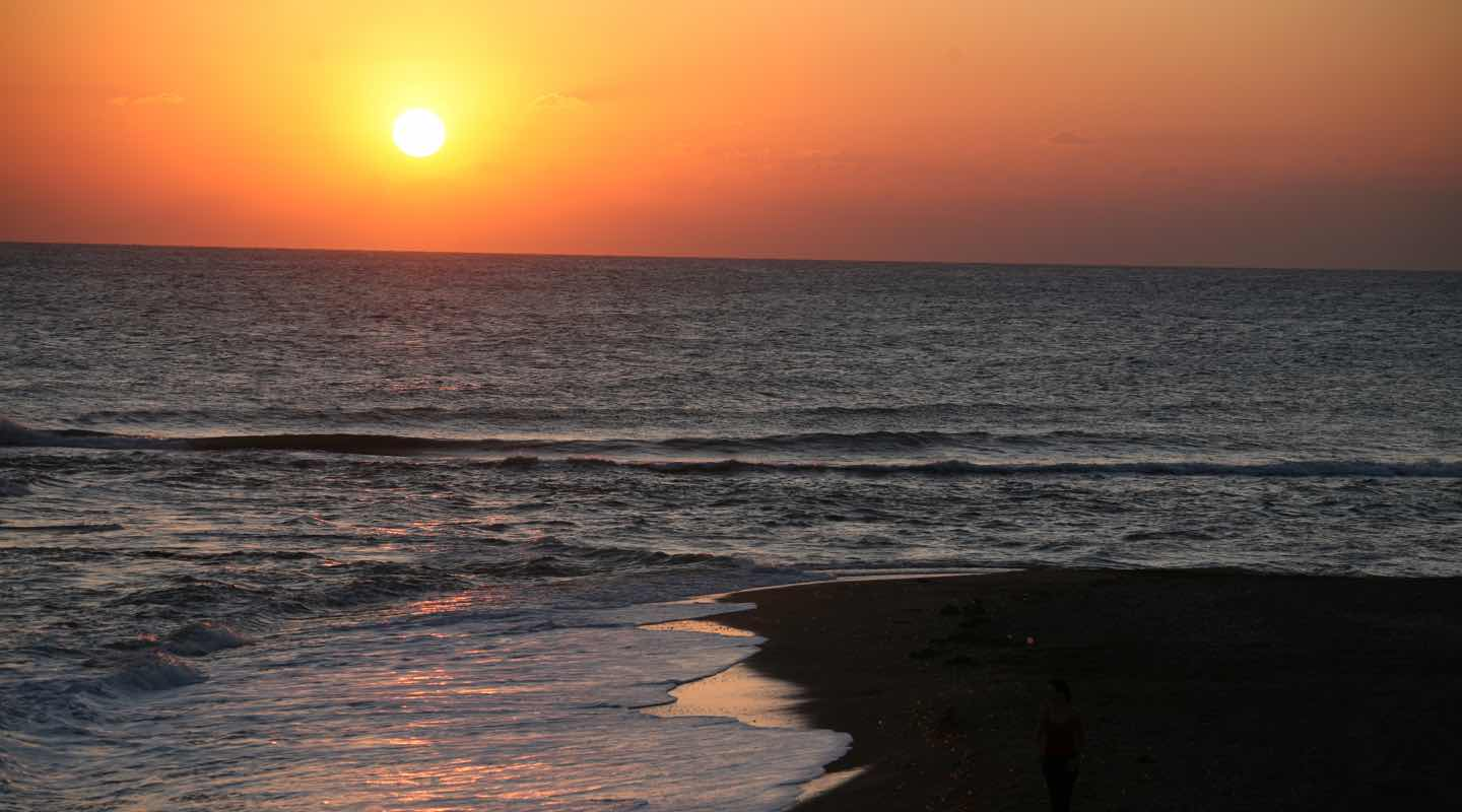 Amazing Sea Front Sunset View at Aphrodite Sands Resort in Mandria Village in Paphos