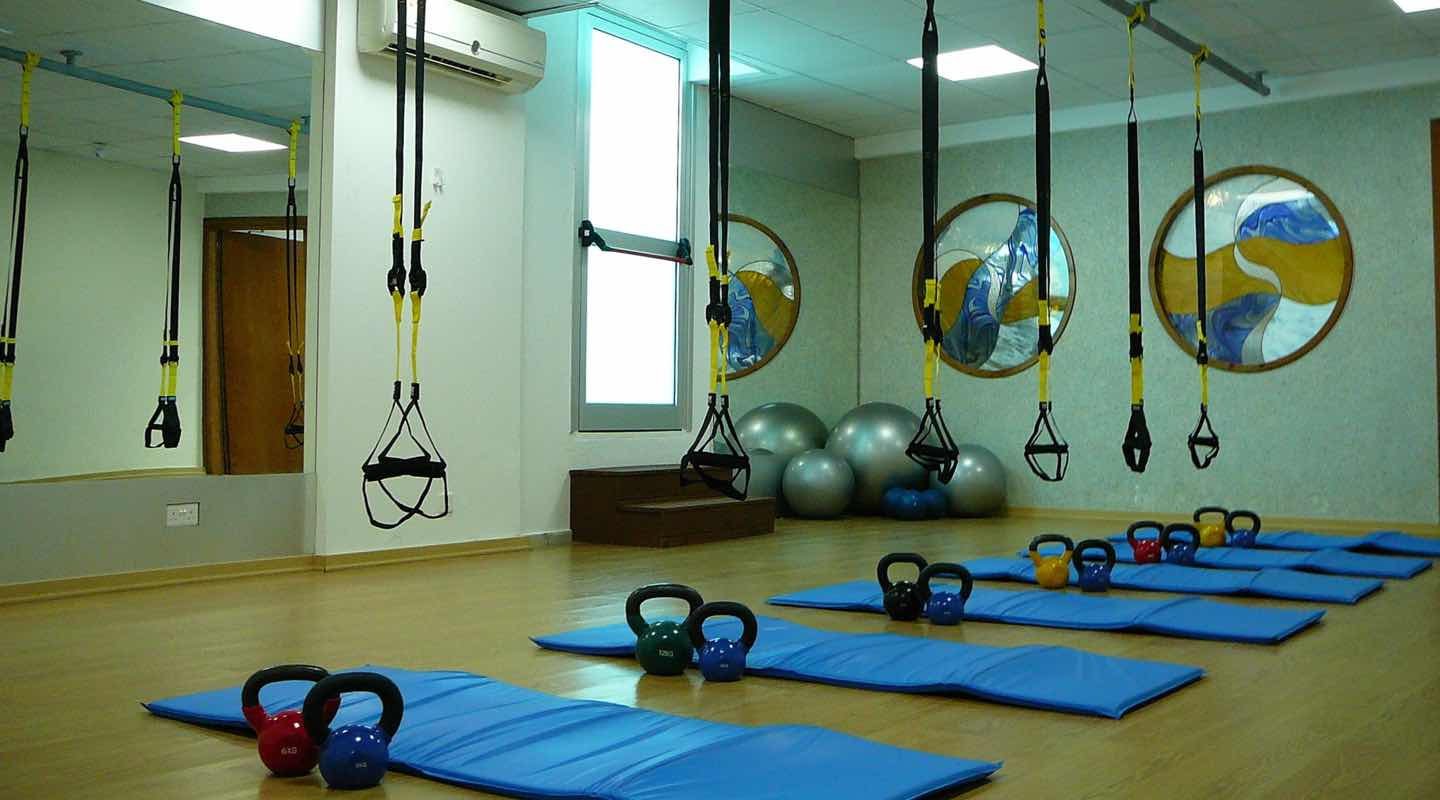 Aerobics Room at Paphos Aphrodite Sands Resort