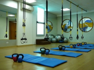 Health Club aerobics room at Paphos Aphrodite Sands Resort