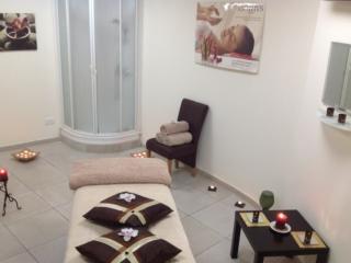 Massage room at Spa at Paphos Aphrodite Sands Resort
