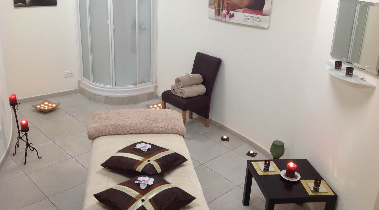 Massage Room in Spa of Paphos Aphrodite Sands Resort