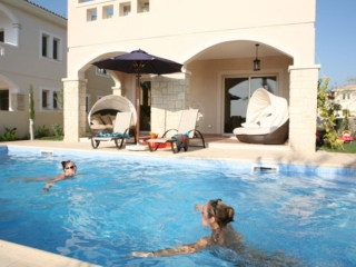 Pool of Villa at Paphos Aphrodite Sands Resort