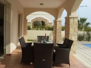 Terrace of Villa Paphos Aphrodite Sands Resort