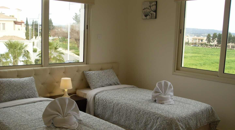 Twin Beds of Villa at Paphos Aphrodite Sands Resort