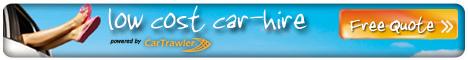 Low cost car rentals Cartrawler