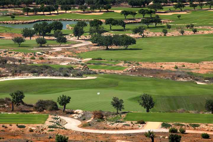 Elea Golf course in Paphos Cyprus