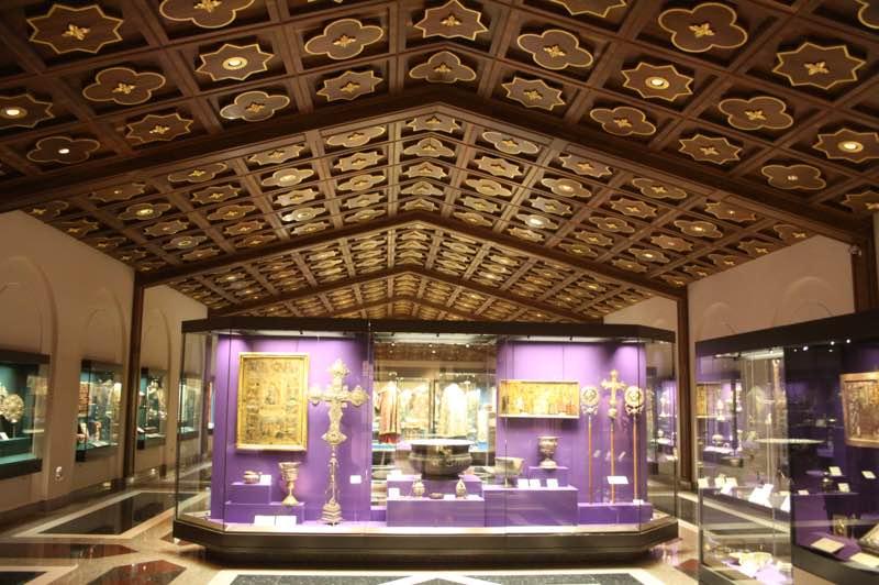Museum at Kykkos Monastery in Cyprus