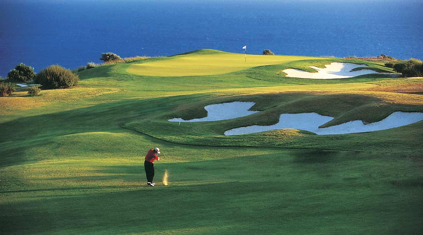 Nearby Golf Course at Paphos Aphrodite Sands Resort