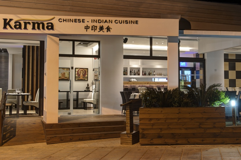 Karma Restaurant in Mandria Village Chinese and Indian Cuisine