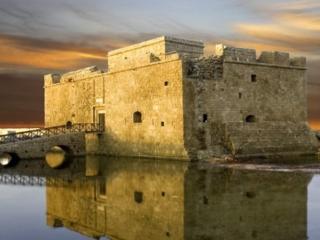 The castle in Kato Paphos
