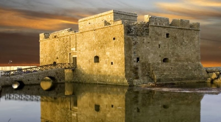 The castle in Kato Paphos