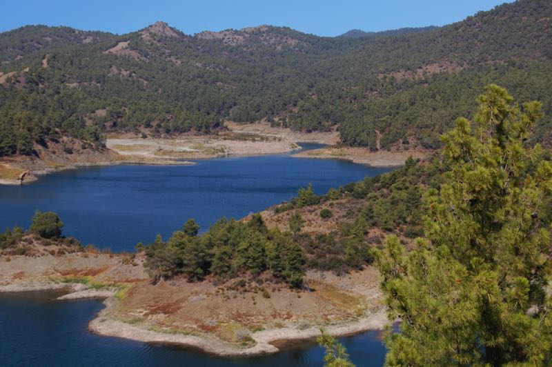 Beauty of Lakes and Forest at Troodos Mountains
